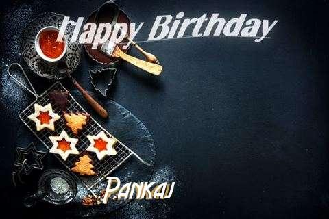 Happy Birthday Pankaj Cake Image