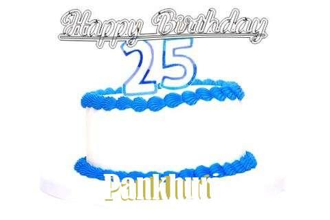Happy Birthday Pankhuri Cake Image