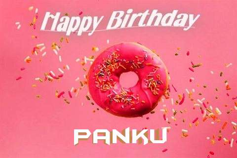 Happy Birthday Cake for Panku