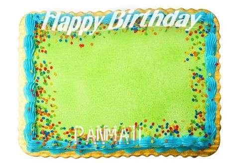 Happy Birthday Panmati Cake Image