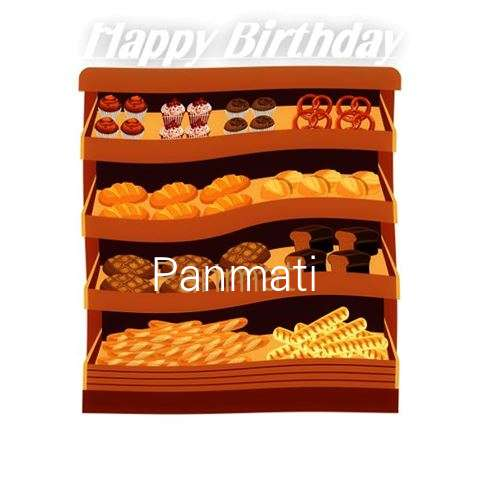 Happy Birthday Cake for Panmati