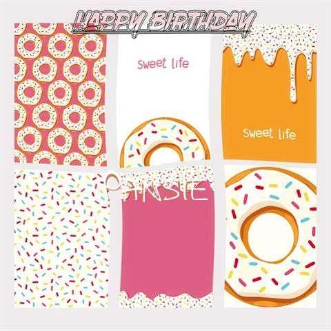 Happy Birthday Cake for Pansie
