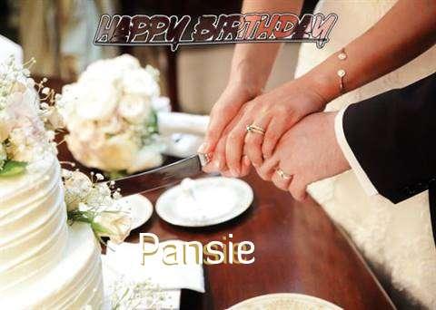 Pansie Cakes