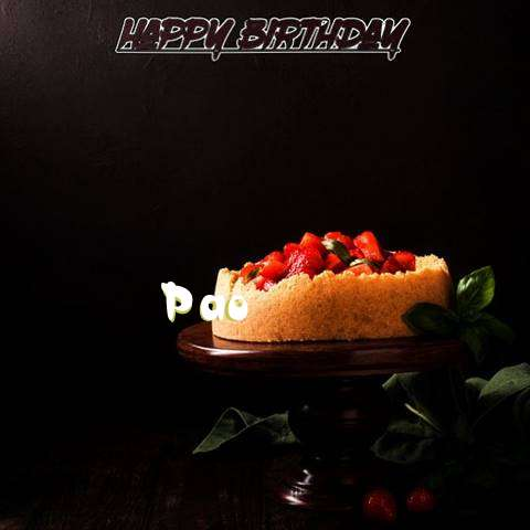Pao Birthday Celebration