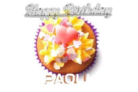 Happy Birthday Paoli Cake Image