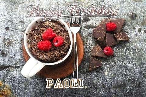 Happy Birthday Wishes for Paoli