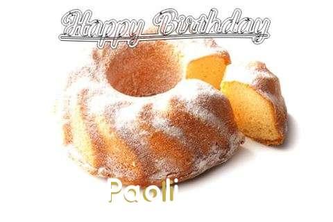 Happy Birthday to You Paoli