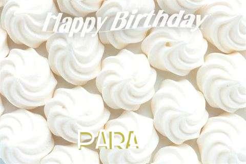 Para Birthday Celebration