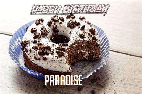 Happy Birthday Paradise