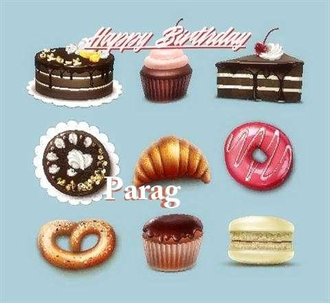 Happy Birthday Cake for Parag