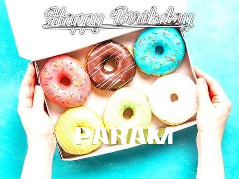 Happy Birthday Param Cake Image