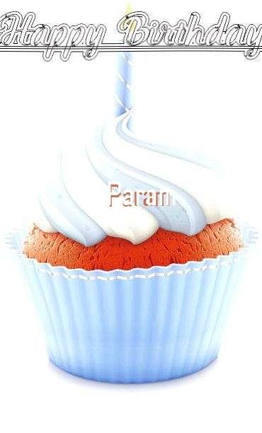 Happy Birthday Wishes for Param