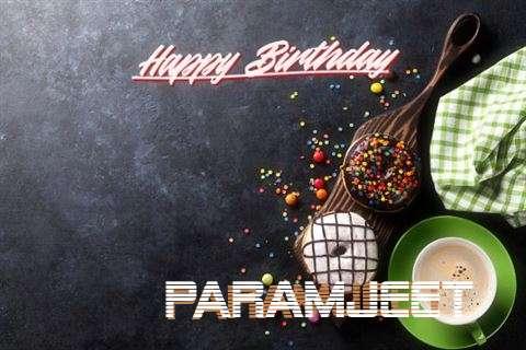 Happy Birthday Paramjeet Cake Image