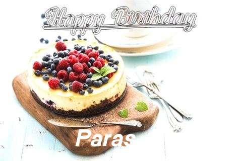 Happy Birthday Paras