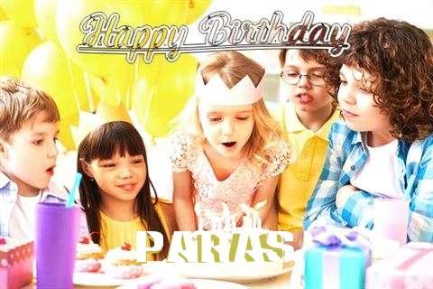 Happy Birthday to You Paras
