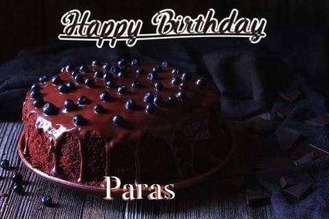Happy Birthday Cake for Paras