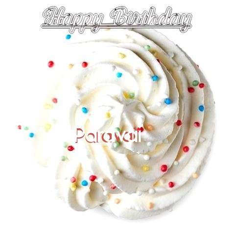 Happy Birthday Paravai