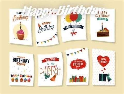 Happy Birthday Cake for Parbha