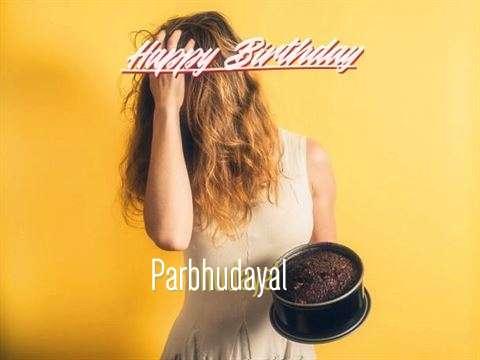 Happy Birthday Parbhudayal