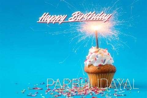Happy Birthday Parbhudayal Cake Image