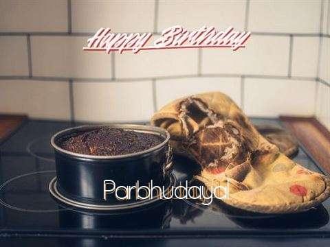 Happy Birthday to You Parbhudayal