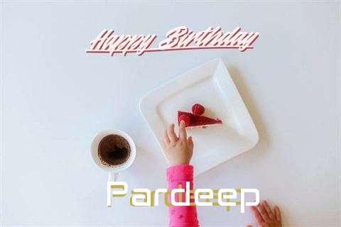 Happy Birthday to You Pardeep