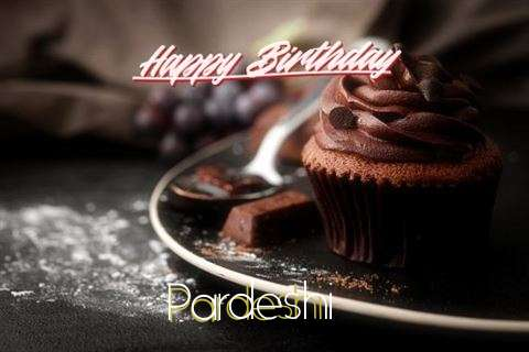 Happy Birthday Pardeshi Cake Image