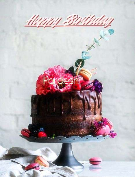 Happy Birthday Cake for Pardeshi