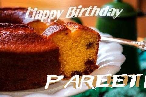 Happy Birthday Wishes for Pareeti
