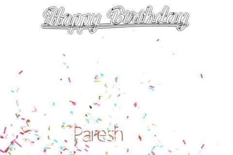 Happy Birthday to You Paresh