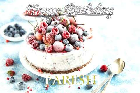 Happy Birthday Cake for Paresh