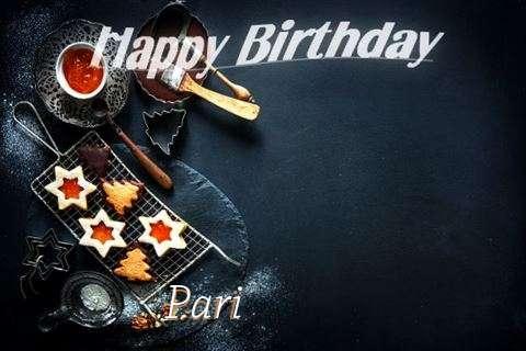 Happy Birthday Pari Cake Image