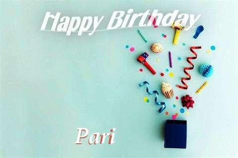 Happy Birthday Wishes for Pari