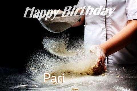 Happy Birthday to You Pari