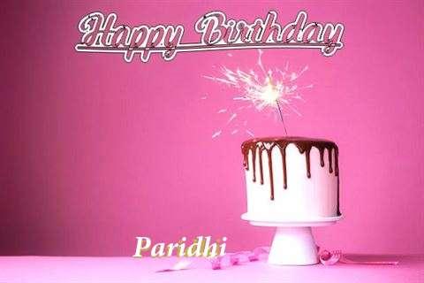 Birthday Images for Paridhi