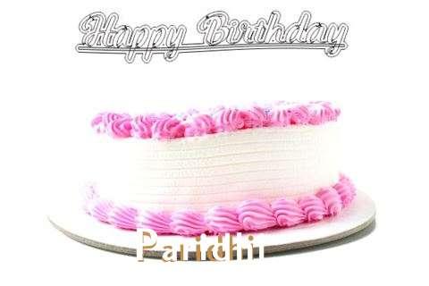 Happy Birthday Wishes for Paridhi
