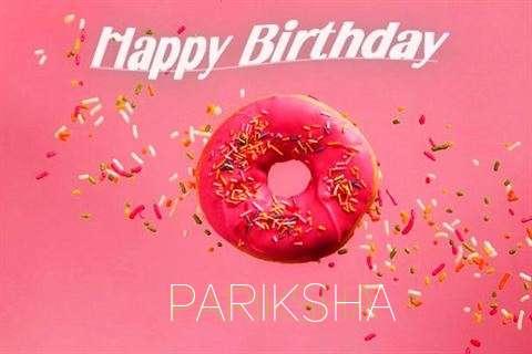 Happy Birthday Cake for Pariksha