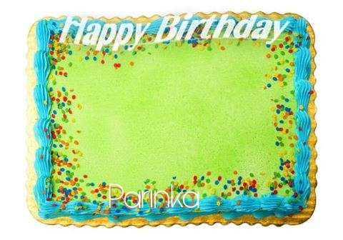 Happy Birthday Parinka Cake Image
