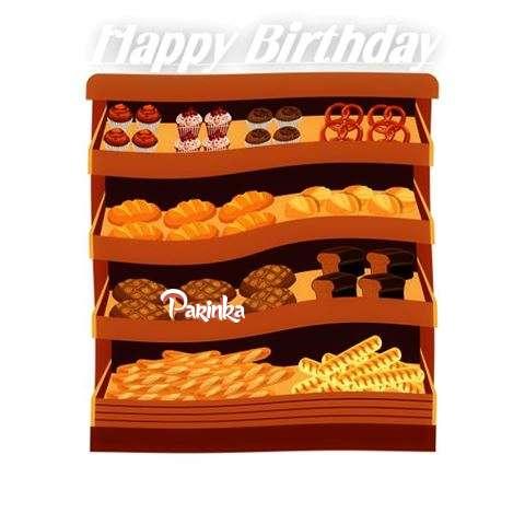 Happy Birthday Cake for Parinka