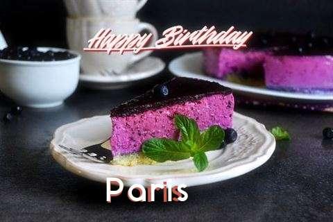Happy Birthday Paris