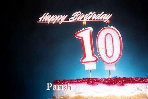 Parish Birthday Celebration