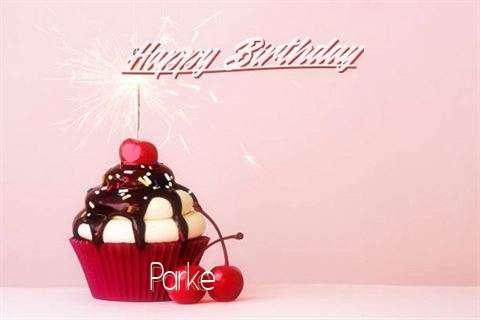 Happy Birthday Parke