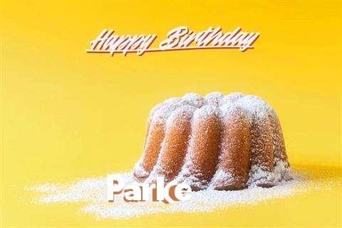 Happy Birthday Cake for Parke