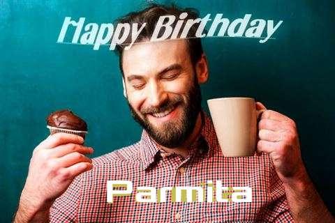 Happy Birthday Parmita Cake Image