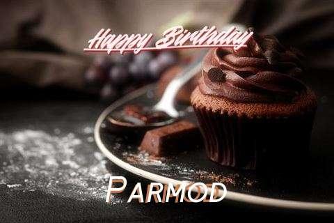 Happy Birthday Parmod Cake Image