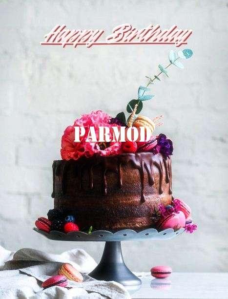 Happy Birthday Cake for Parmod