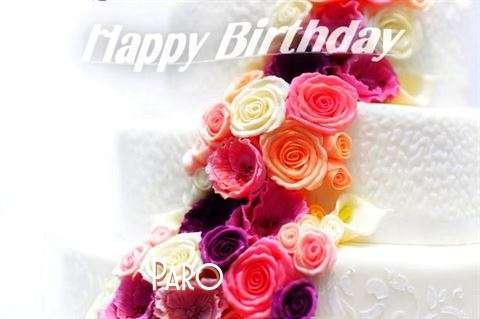 Happy Birthday Paro