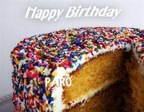 Happy Birthday Wishes for Paro