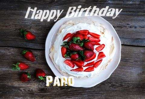 Happy Birthday to You Paro