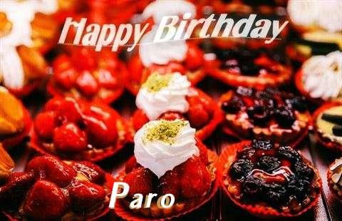Happy Birthday Cake for Paro
